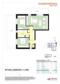 Bytová jednotka 3